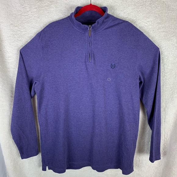 Chaps Other - NWT Chaps Men's Long Sleeve 1/4 ZIP Sweater